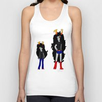homestuck Tank Tops featuring Vriska by Darkerin Drachen
