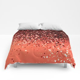 Cali Summer Vibes Lady Glitter #8 #shiny #decor #art #society6 Comforters