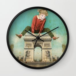Parisian leapfrog  Wall Clock