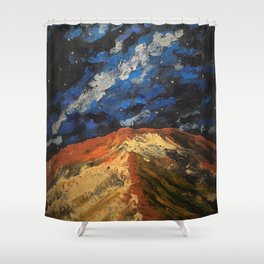 Galactic sand dunes Shower Curtain