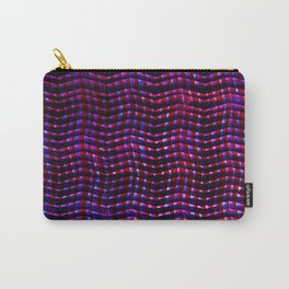 Screened violet Carry-All Pouch