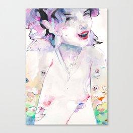 Cherry Pie says Hi Canvas Print