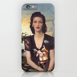 Weary World iPhone Case