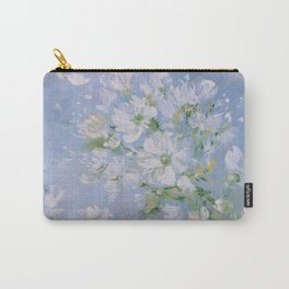 Sweet Wild Roses Carry-All Pouch