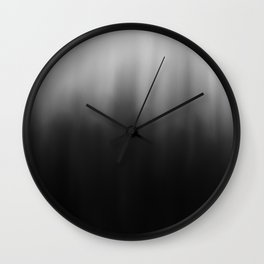 charcoal ombre Wall Clock