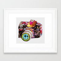 boyfriend Framed Art Prints featuring Picture This by Bianca Green