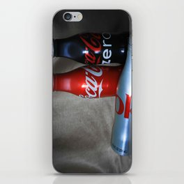 Coke In tin Bottles iPhone Skin