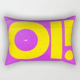 oi! Rectangular Pillow