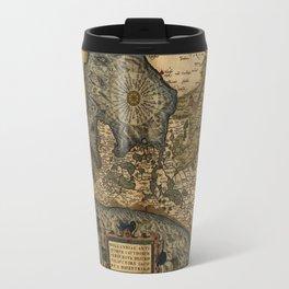 Map Of Holland 1570 Travel Mug