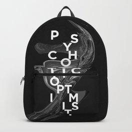 psychotic optimist Backpack