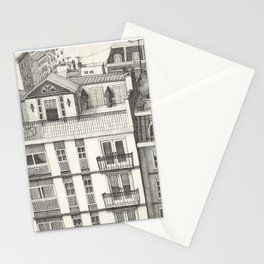 B.A. Roof Top Paradise Stationery Cards