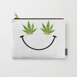 Weed Smile Carry-All Pouch
