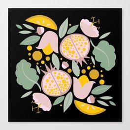 FoodFlora Canvas Print
