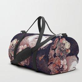 Obey Me: Blood (graffiti flower woman profile) Duffle Bag