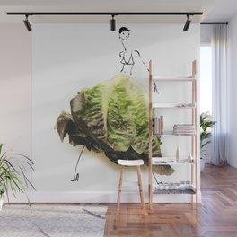 Edible Ensembles: Lettuce Wall Mural