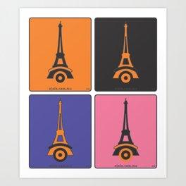 parí[ri]s Art Print