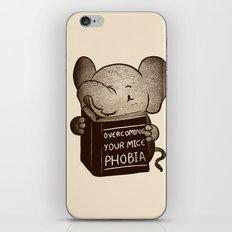 Elephant Overcoming Your Mice Phobia iPhone & iPod Skin