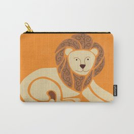L is for Lion (Text free) Carry-All Pouch