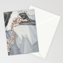 Hornbill Skeleton Museum Display Stationery Cards
