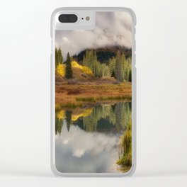 Transition by OLena Art Clear iPhone Case