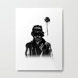 Eazy Metal Print