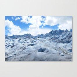 Glacier Hike Canvas Print