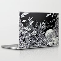 tangled Laptop & iPad Skins featuring Tangled by Isobelle Ouzman