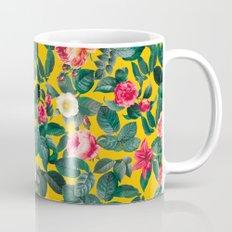 Summer Botanical Pattern Mug