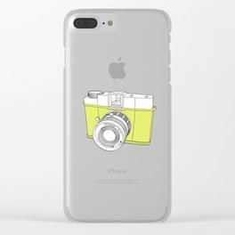 Diana F+ Glow - Plastic Analogue Camera Clear iPhone Case