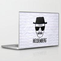 heisenberg Laptop & iPad Skins featuring HeisenBerg by IIIIHiveIIII