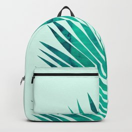 Composition tropical leaves XV Backpack