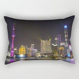The Bund Shanghai Rectangular Pillow