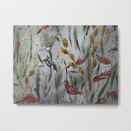 """Thumbnail of the painting """"Autumnal"""" Metal Print"""