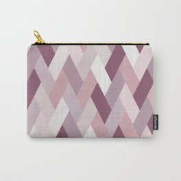 Rose, Purple, Neutral Geometry IA Carry-All Pouch