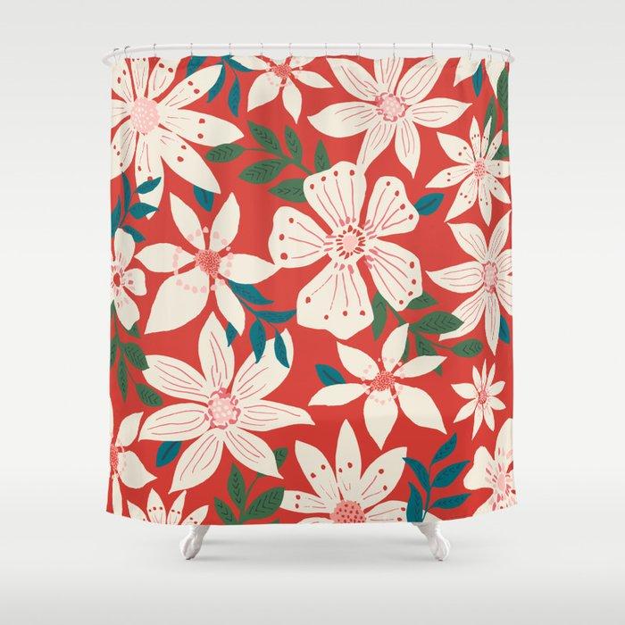 Balia Shower Curtain
