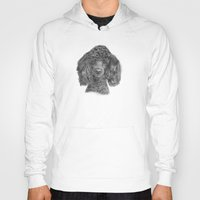 poodle Hoodies featuring Poodle - black by Doggyshop