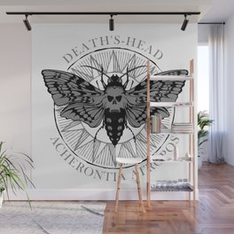 deaths head moth Wall Mural