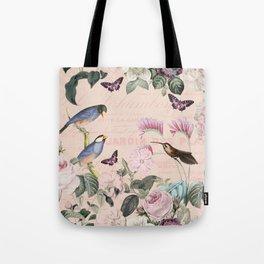 HAA-0278A Hummingbird Summer Tote Bag