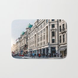 Regent street in London Bath Mat