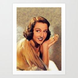 Ethel Merman, Vintage Actress Art Print