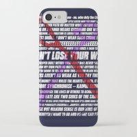 kill la kill iPhone & iPod Cases featuring Kill la Kill typography by Pocketmoon designs