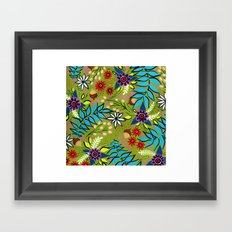 Woodsy Willows Framed Art Print