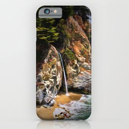 McWay Falls Painting iPhone Case