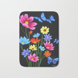 Wildflowers-3 Bath Mat