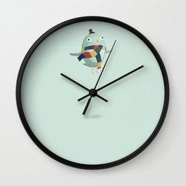 Monster Birdlady Wall Clock
