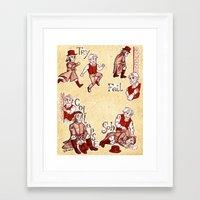 les miserables Framed Art Prints featuring Les Miserables Motivation Meme by Uirukii