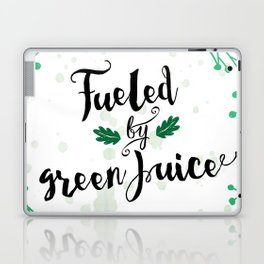 Fueled by Green Juice Laptop & iPad Skin