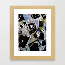 Edgy Moments to the Heart Framed Art Print