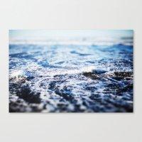 surf Canvas Prints featuring Surf by Leah Flores