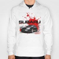 subaru Hoodies featuring Cars: Subaru WRX STI by Urbex :: Siam